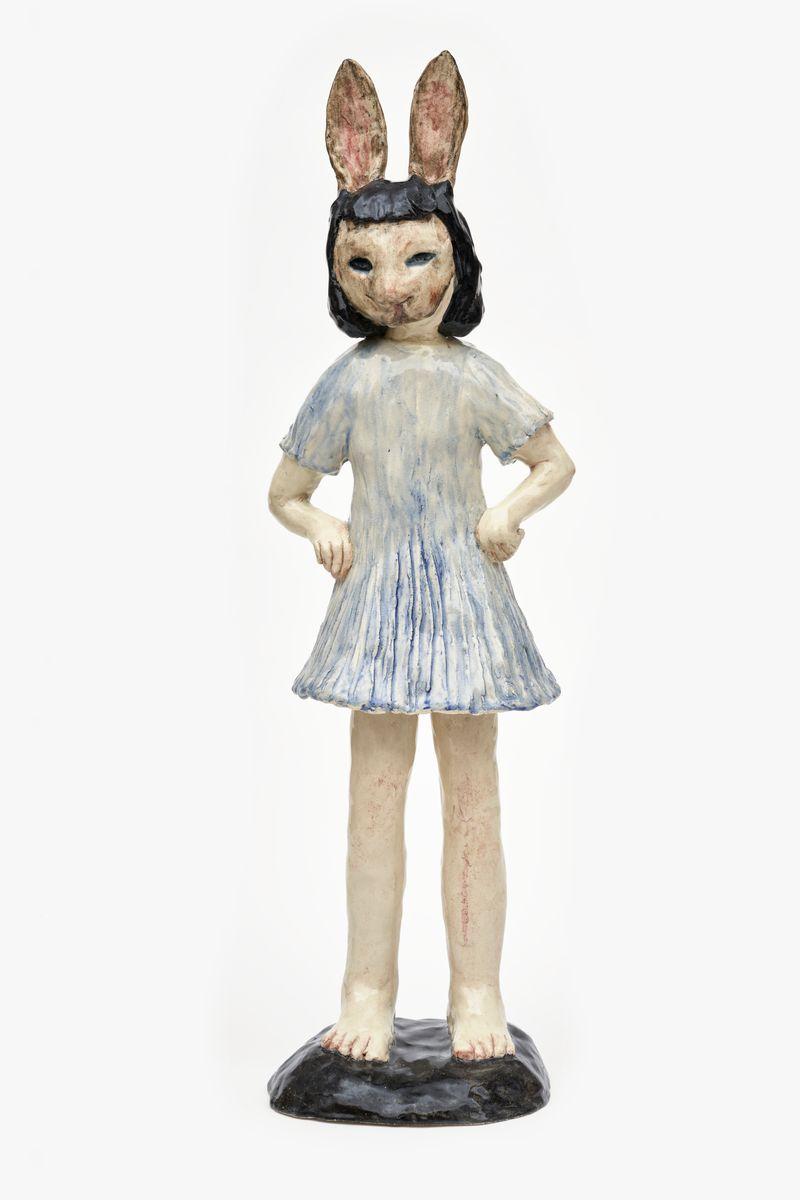 Klara_Kristalova_Girl in blue dress
