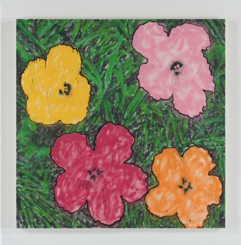 Madsaki_Andy Warhol Flower 2 large