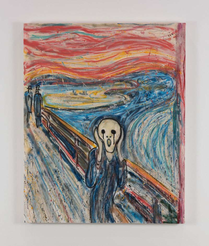 Madsaki_The Scream II (inspired by Edvard Munch)