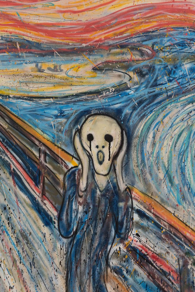 Madsaki_The Scream II (inspired by Edvard Munch)_madsaki-47303_93901