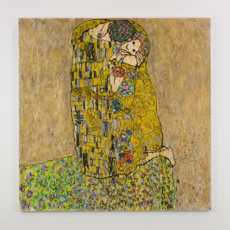 Madsaki_The Kiss II (inspired by Gustav Klimt) - TBC
