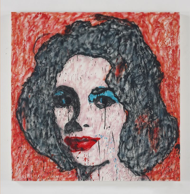 Madsaki_Liz #6 II (inspired by Andy Warhol)