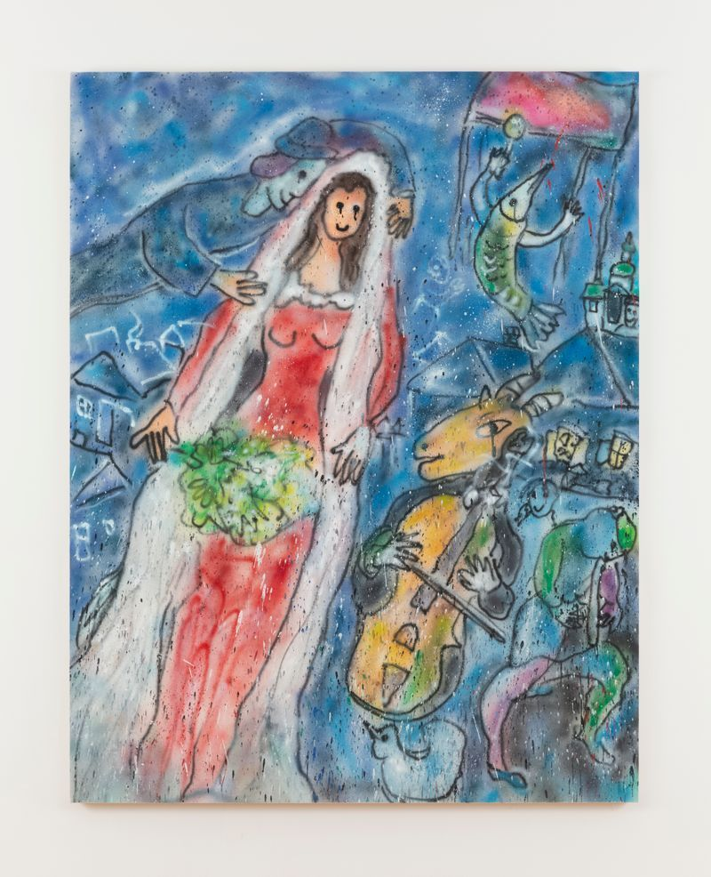 Madsaki_The Bride Ⅱ (inspired by Marc Chagall)