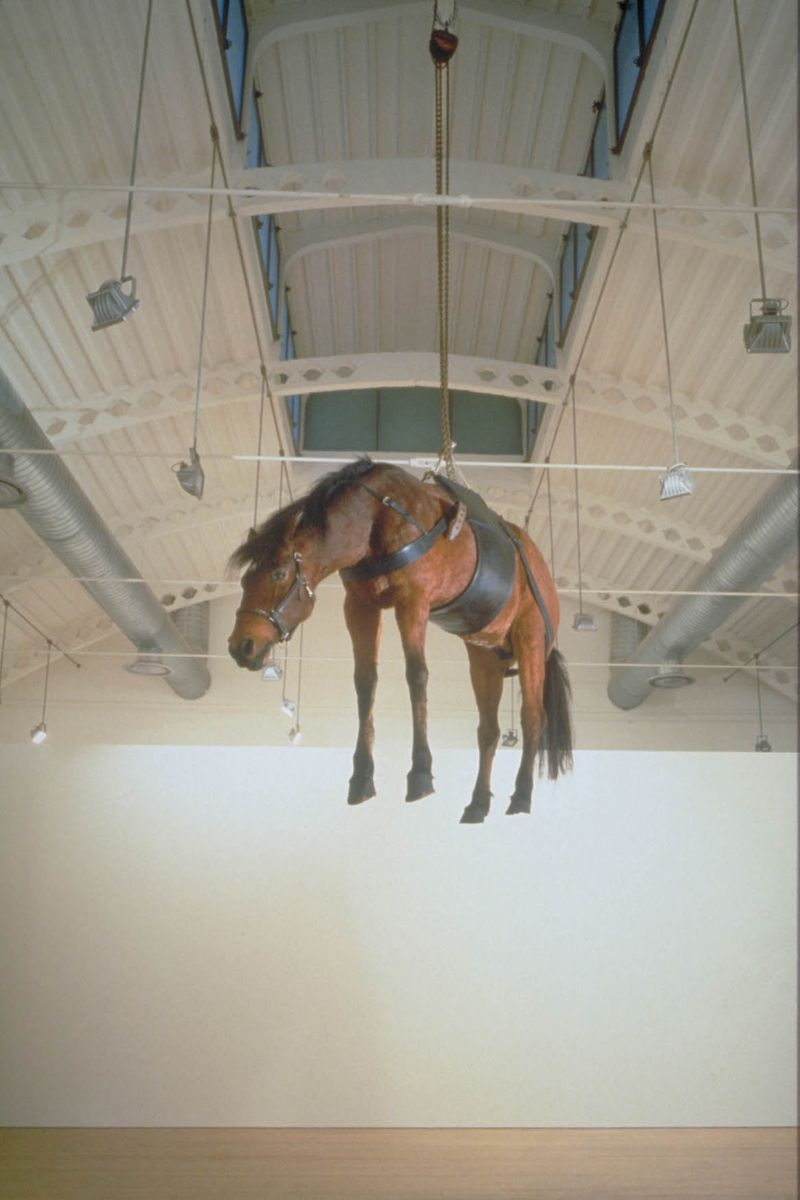 Maurizio_Cattelan_The Ballad of Trotsky