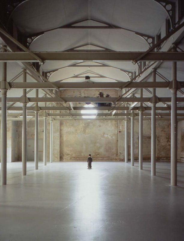 View of the exhibition in 2001 at Färgfabriken, Stockholm, Sweden / Photograph : Paolo Pellion di Persano.