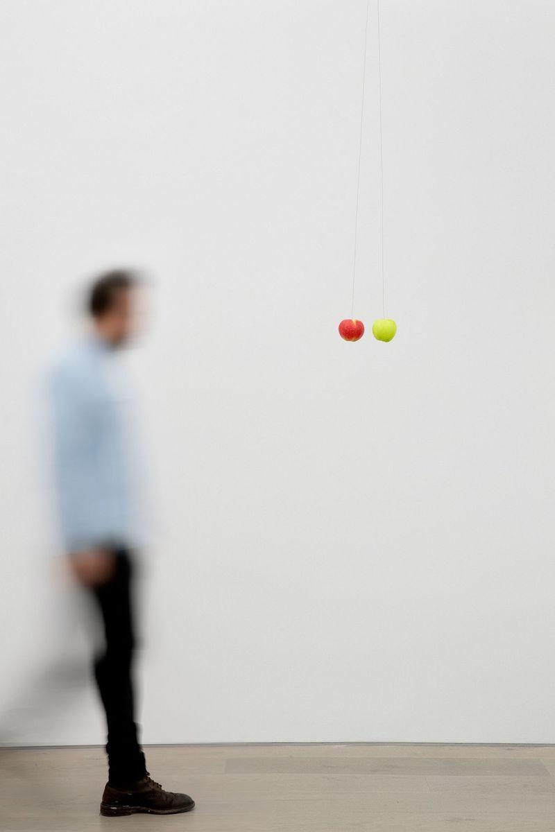 Michael_Sailstorfer_Zwei Äpfel (--)_michael_sailstorfer-45550_96012