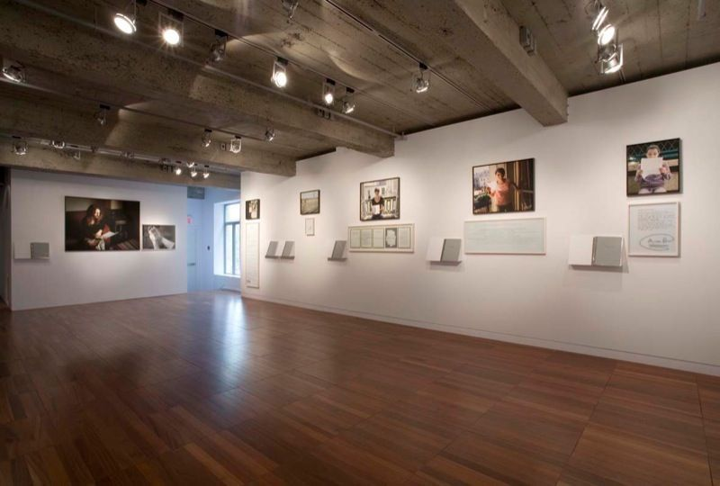 """View of the exhibition """"Prenez soin de vous"""" in 2008 at DHC/ART, Montreal (Canada)"""