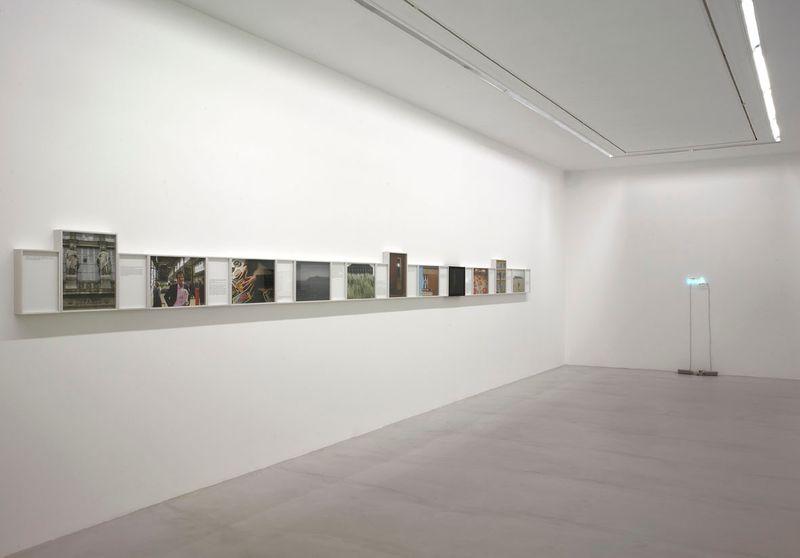 Exhibition view at Galerie Perrotin, Paris, 2008