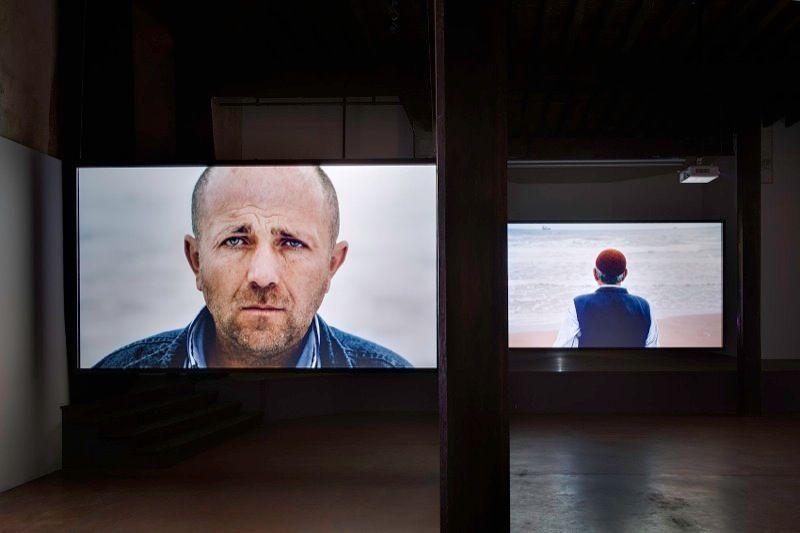 Vue d'exposition à Arles, 2012