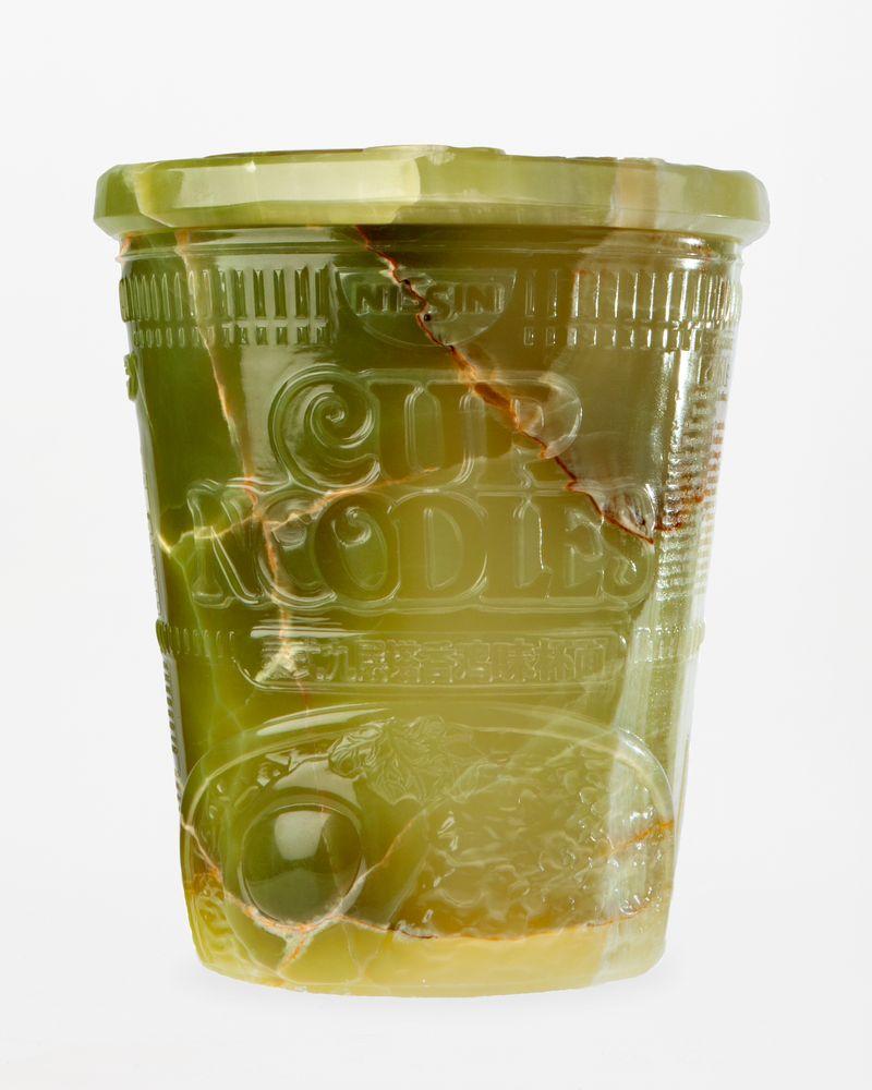 Wim_Delvoye_Untitled (Noodle Pot)