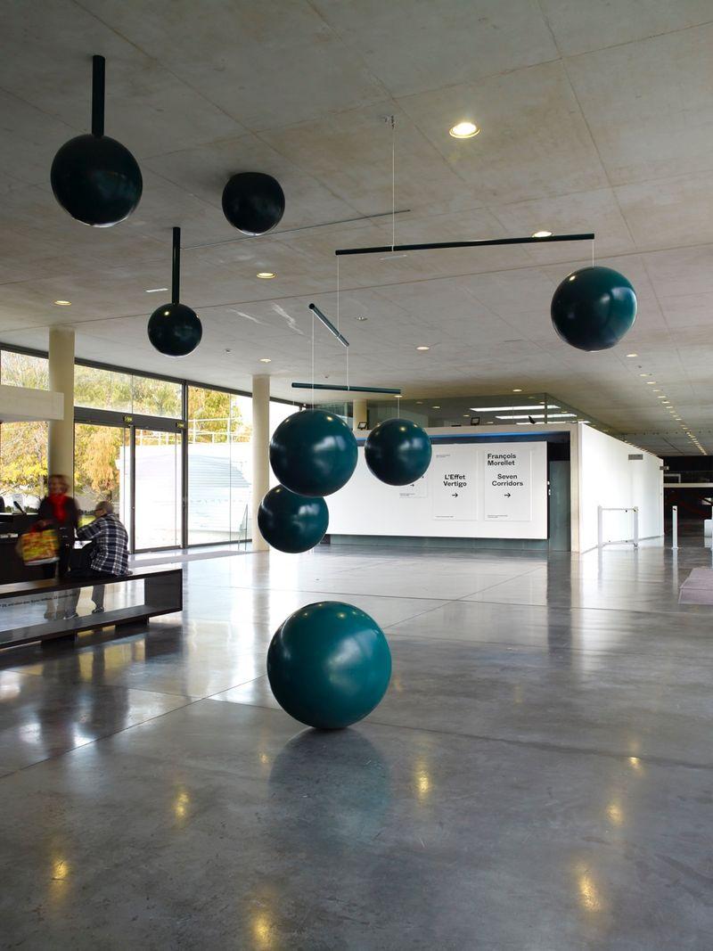 Permanent installation at MAC/VAL, Musée d'art contemporain du Val de Marne, Vitry sur Seine, France