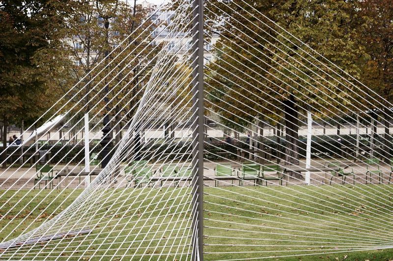 Installation view at Jardin des Tuileries, Paris, FIAC 2015
