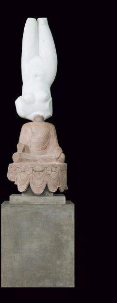 Zhen_Xu_Eternity-Aphrodite of Knidos, Tang Dynasty Sitting Buddha