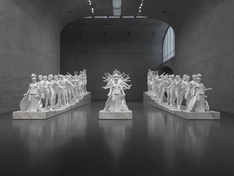 Zhen_Xu_European Thousand-Arms Classical Sculpture