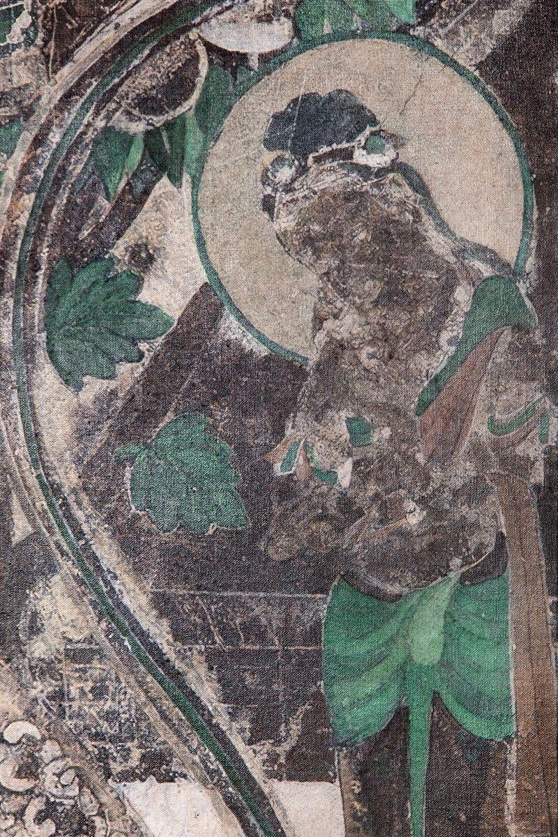Zhen_Xu_Evolution-Seated Buddha from the South Wall of Mogao Cave No.066, Teke Tsaye Mask / 進化-莫高窟066窟主室南壁坐佛、Teke Tsaye Mask_zhen-xu-42397_47206