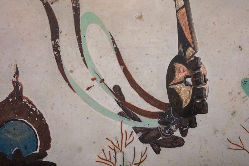 Zhen_Xu_Evolution-North Wall of Mogao Cave No.172, Mma Ji Mask / 進化-莫高窟172窟主室北壁、瑪基面具_zhen-xu-42688_49124