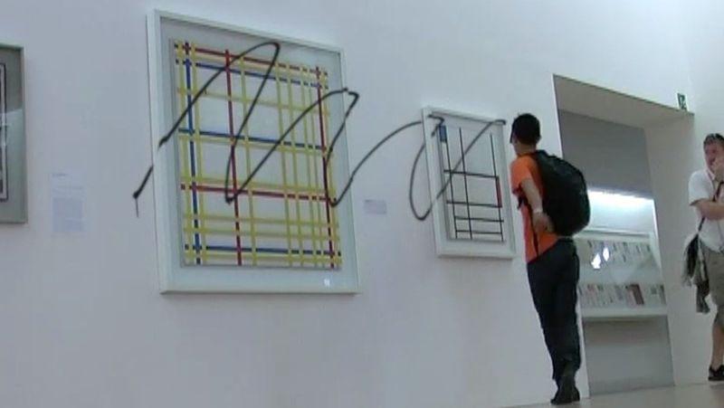 """Iván ARGOTE  """"Retouche"""", 2008"""