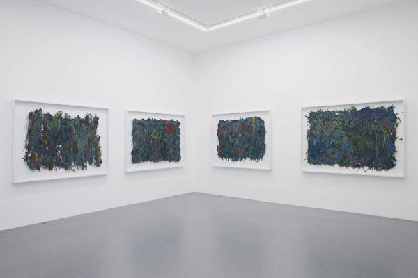 """a wander"" Galerie Perrotin, Paris 2015"