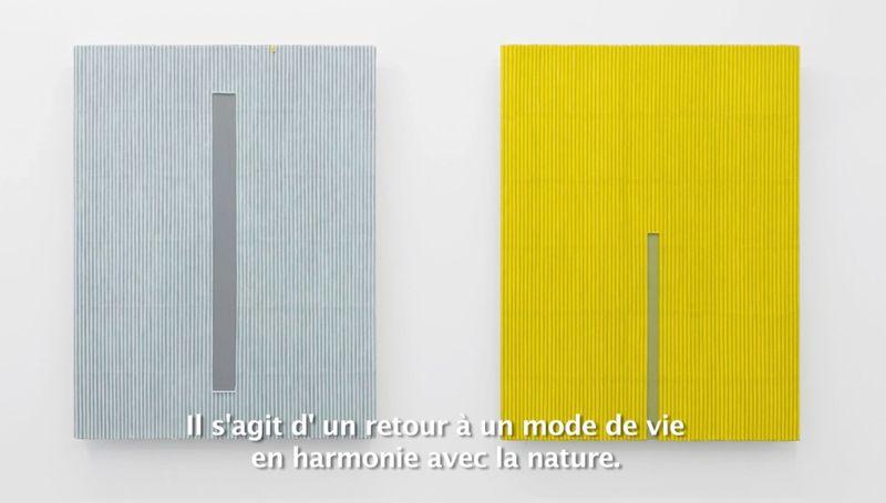 """""""Ecriture"""", Galerie Perrotin, Paris du 6 novembre au 20 décembre 2014"""