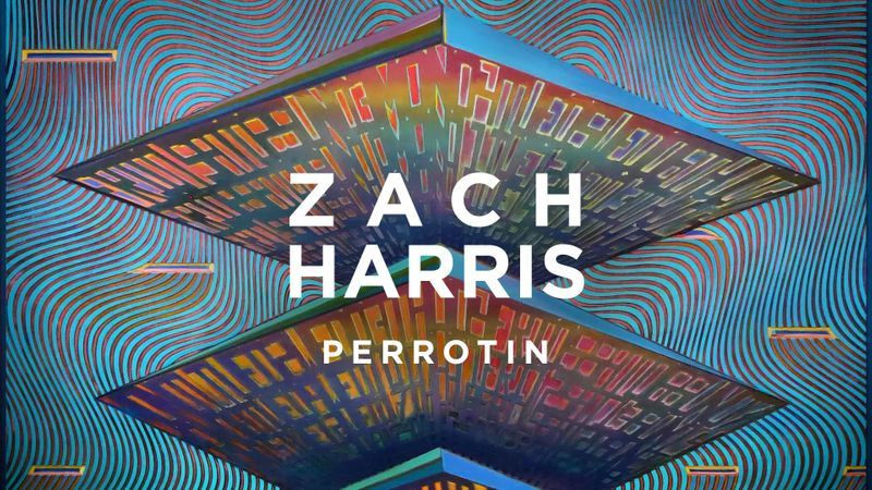 "Zach HARRIS ""Purple Cloud"", Perrotin Paris"