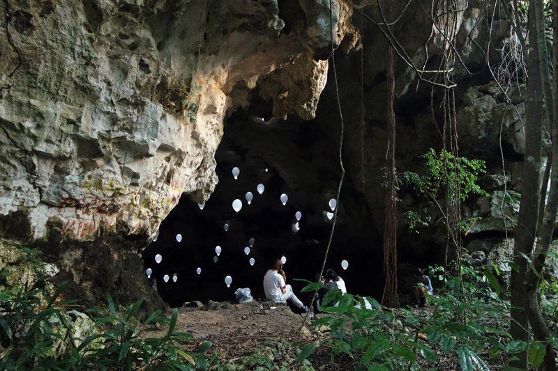 """Gelitin_""""Abscess, Rectum, Septum, Cave."""" Puerto Rico, 2014_10001_1"""