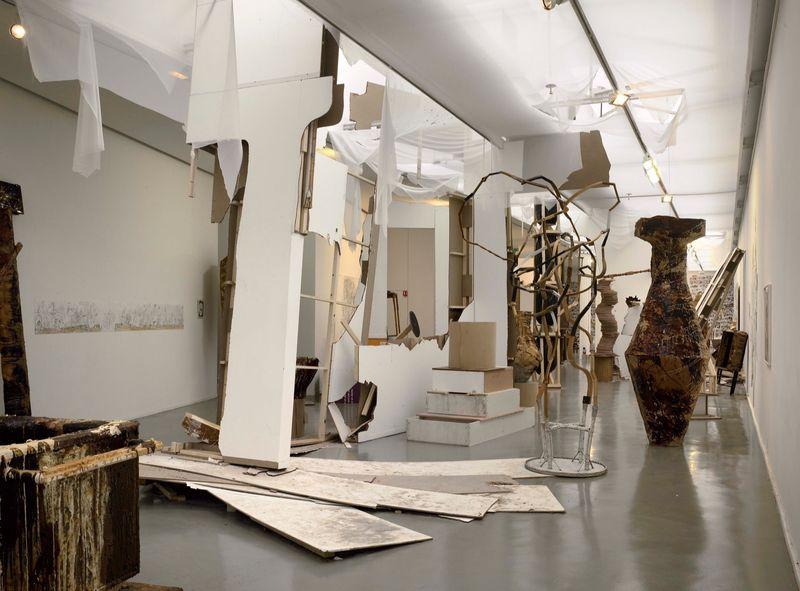 """Gelitin_View of the exhibition """"La Louvre - Paris"""" at Musée d'Art Moderne de la Ville de Paris,  Paris (France), 2008_10047_1"""