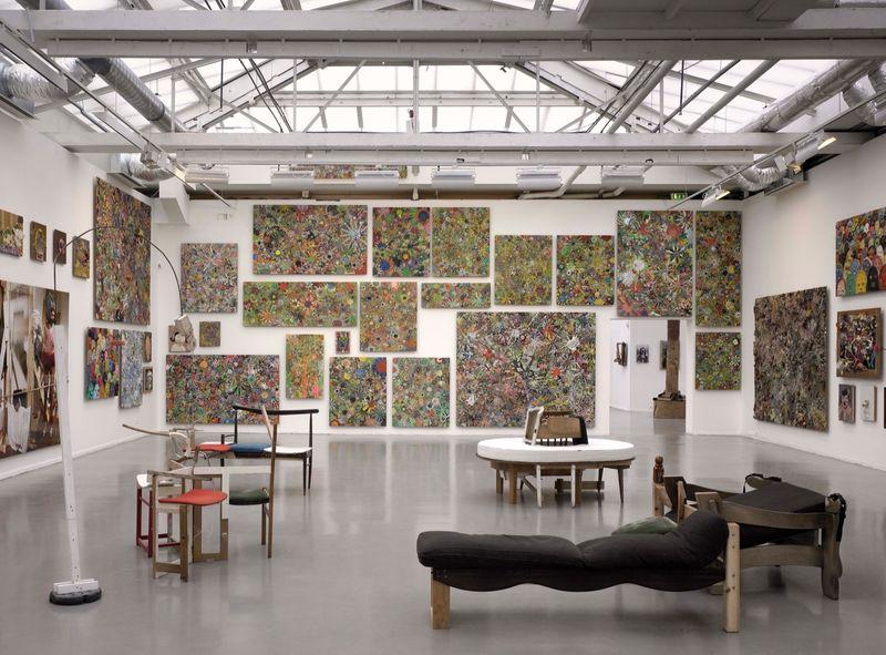 """Gelitin_View of the exhibition """"La Louvre - Paris"""" at Musée d'Art Moderne de la Ville de Paris,  Paris (France), 2008_10050_1"""