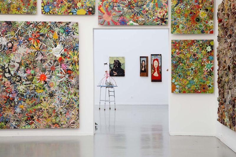 """Gelitin_View of the exhibition """"La Louvre - Paris"""" at Musée d'Art Moderne de la Ville de Paris,  Paris (France), 2008_10051_1"""