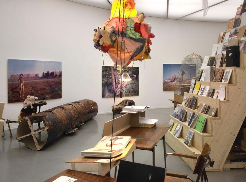 """Gelitin_View of the exhibition """"La Louvre - Paris"""" at Musée d'Art Moderne de la Ville de Paris,  Paris (France), 2008_10055_1"""