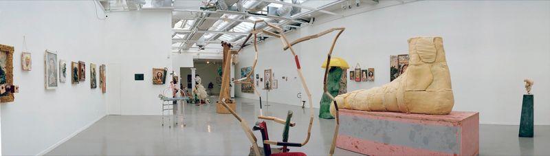 """Gelitin_View of the exhibition """"La Louvre - Paris"""" at Musée d'Art Moderne de la Ville de Paris,  Paris (France), 2008_10057_1"""