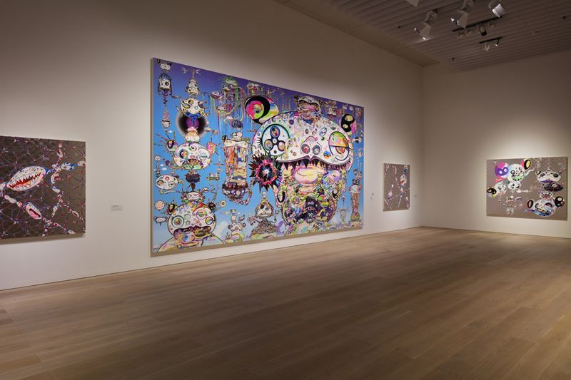 "Takashi_Murakami_View of the exhibition ""The 500 Arhats"" curated by AKIKO MIKI  at Mori Art Museum  Tokyo (Japan), 2015_10085_1"