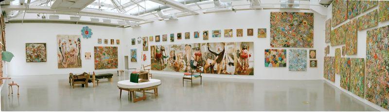 """Gelitin_View of the exhibition """"La Louvre - Paris"""" at Musée d'Art Moderne de la Ville de Paris,  Paris (France), 2008_10214_1"""