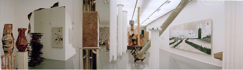"""Gelitin_View of the exhibition """"La Louvre - Paris"""" at Musée d'Art Moderne de la Ville de Paris,  Paris (France), 2008_10215_1"""