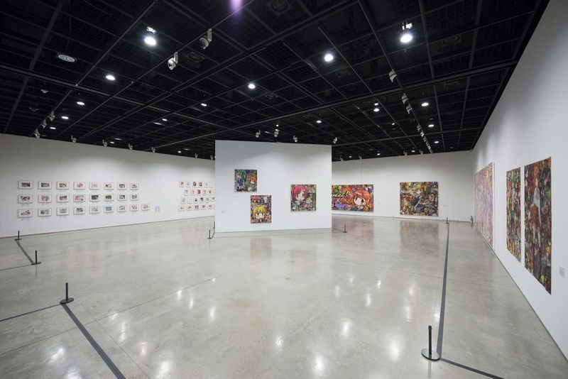 "Mr_View of the group exhibition ""Animamix Biennale "" curated by So Young Ryu  at Daegu Art Museum  Daegu (South Korea), 2015_10446_1"