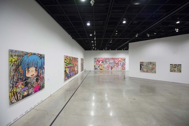 "Mr_View of the group exhibition ""Animamix Biennale "" curated by So Young Ryu  at Daegu Art Museum  Daegu (South Korea), 2015_10450_1"