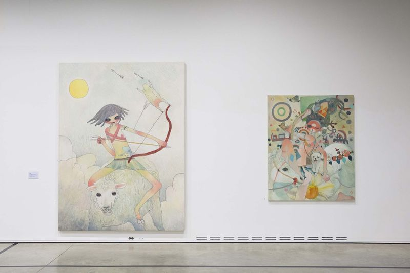 "Mr_View of the group exhibition ""Animamix Biennale "" curated by So Young Ryu  at Daegu Art Museum  Daegu (South Korea), 2015_10457_1"