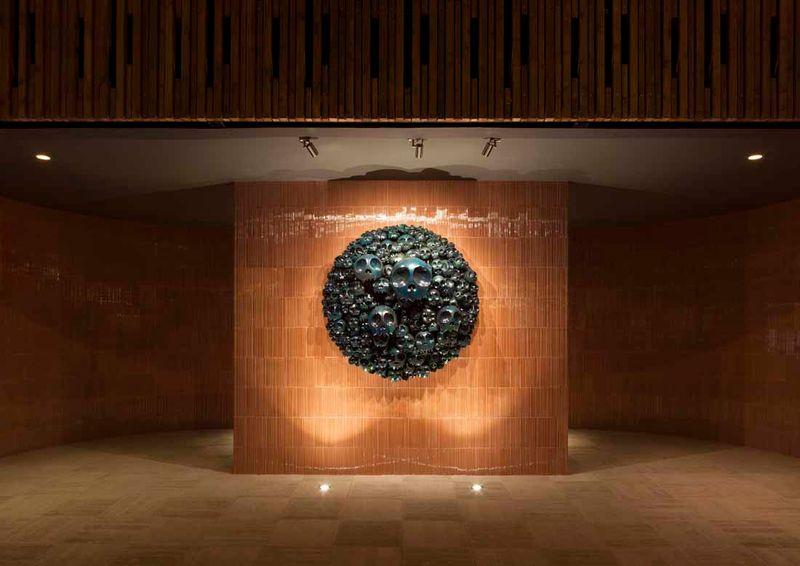 "Takashi_Murakami_View of the exhibition ""Takashi Murakami Arts Projects Ibiza in Partnership with Blum and Poe"" at Ibiza Gran Hotel  Ibiza (Spain), 2015_10496_1"
