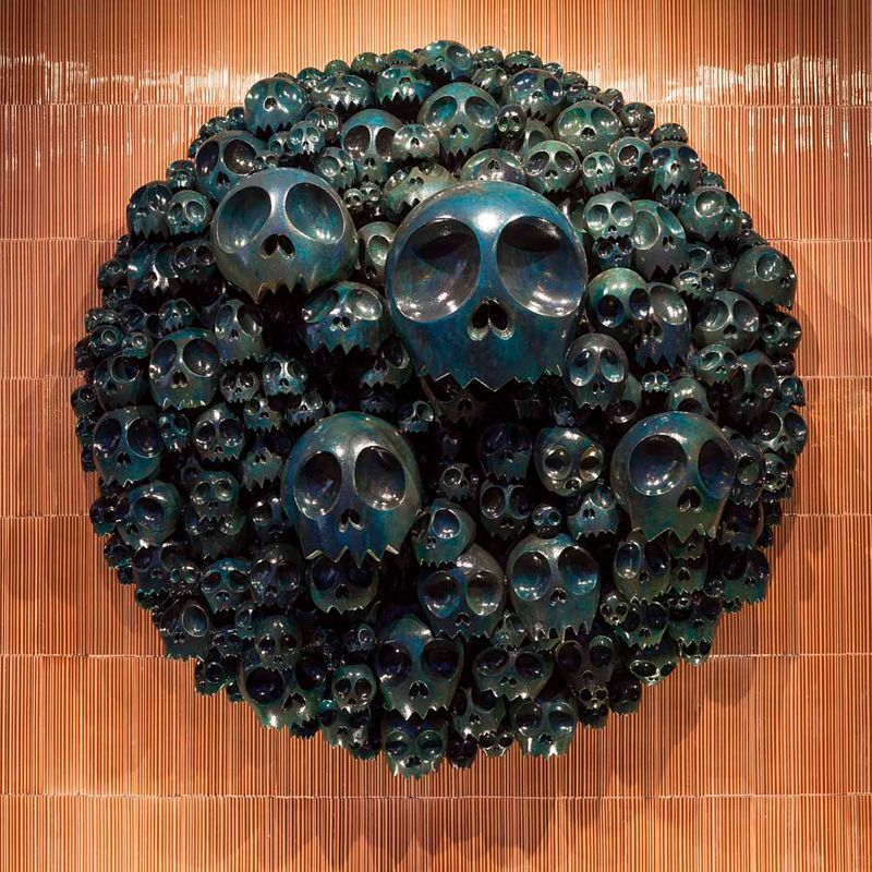 "Takashi_Murakami_View of the exhibition ""Takashi Murakami Arts Projects Ibiza in Partnership with Blum and Poe"" at Ibiza Gran Hotel  Ibiza (Spain), 2015_10497_1"