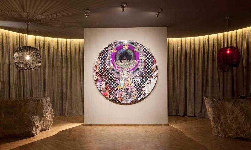 "Takashi_Murakami_View of the exhibition ""Takashi Murakami Arts Projects Ibiza in Partnership with Blum and Poe"" at Ibiza Gran Hotel  Ibiza (Spain), 2015_10499_1"
