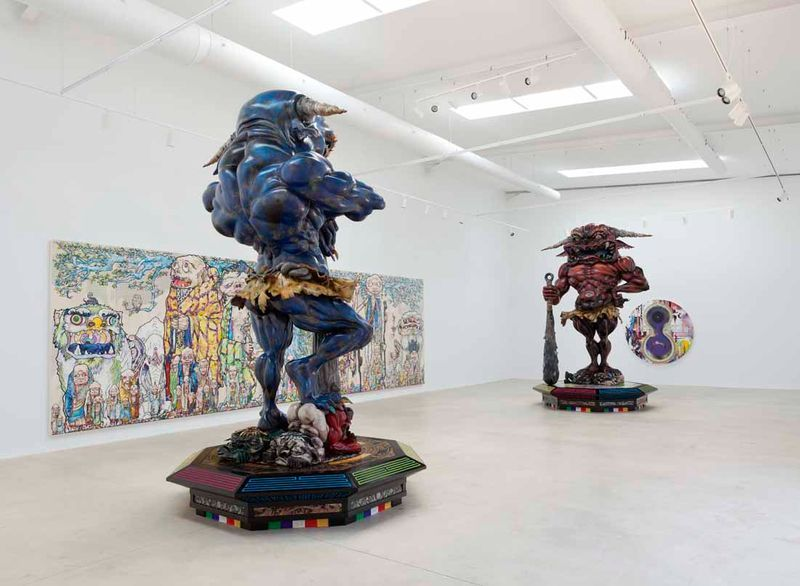 "Takashi_Murakami_View of the exhibition ""Takashi Murakami Arts Projects Ibiza in Partnership with Blum and Poe"" at Ibiza Gran Hotel  Ibiza (Spain), 2015_10506_1"