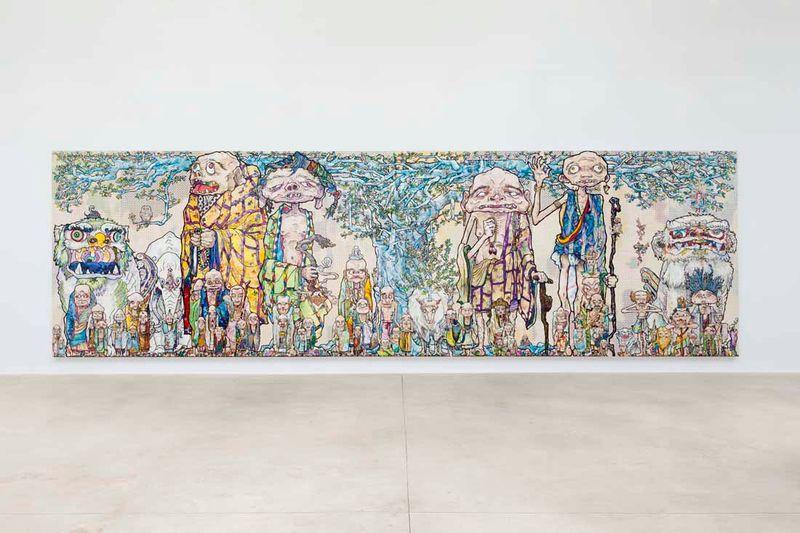 "Takashi_Murakami_View of the exhibition ""Takashi Murakami Arts Projects Ibiza in Partnership with Blum and Poe"" at Ibiza Gran Hotel  Ibiza (Spain), 2015_10508_1"