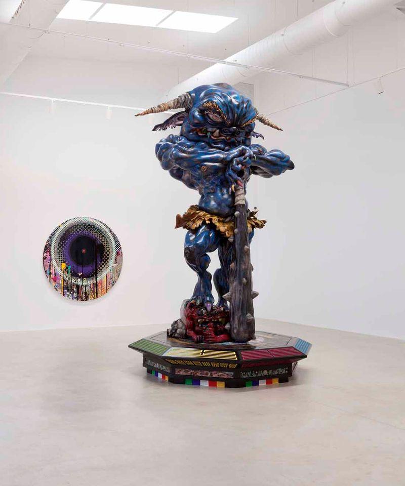 "Takashi_Murakami_View of the exhibition ""Takashi Murakami Arts Projects Ibiza in Partnership with Blum and Poe"" at Ibiza Gran Hotel  Ibiza (Spain), 2015_10510_1"