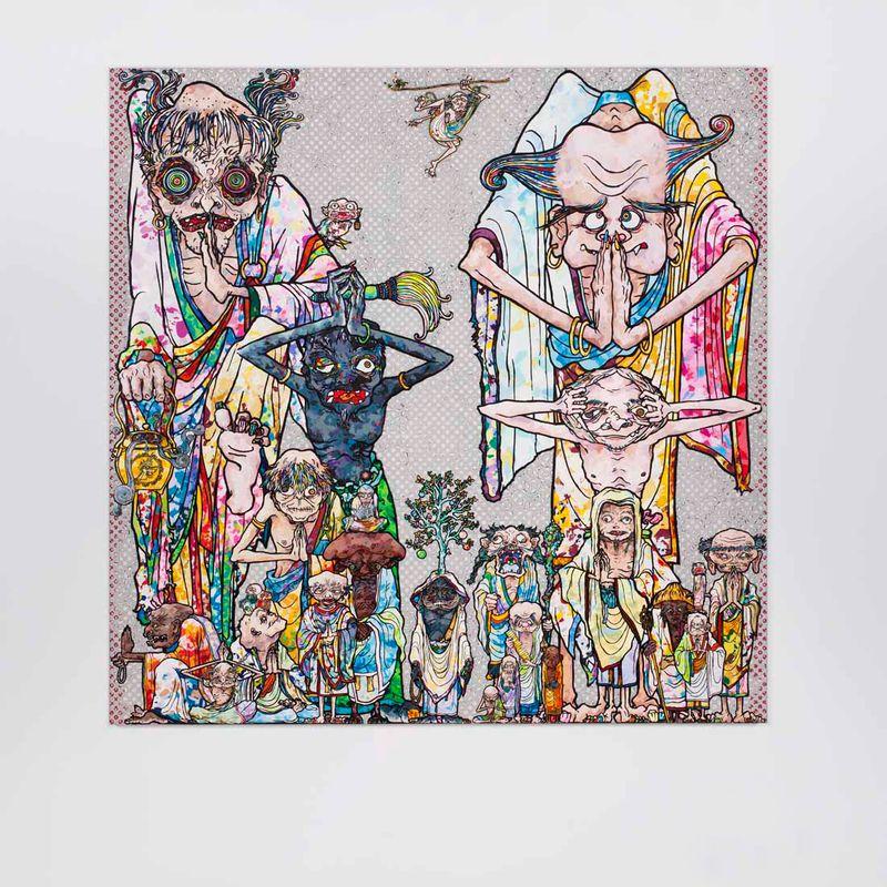 "Takashi_Murakami_View of the exhibition ""Takashi Murakami Arts Projects Ibiza in Partnership with Blum and Poe"" at Ibiza Gran Hotel  Ibiza (Spain), 2015_10527_1"