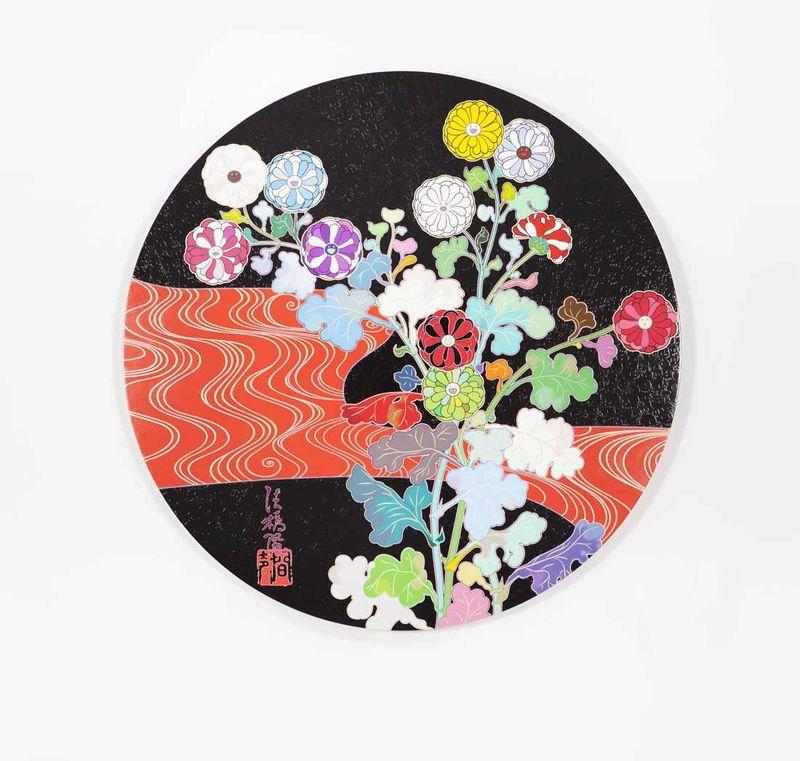 "Takashi_Murakami_View of the exhibition ""Takashi Murakami Arts Projects Ibiza in Partnership with Blum and Poe"" at Ibiza Gran Hotel  Ibiza (Spain), 2015_10536_1"