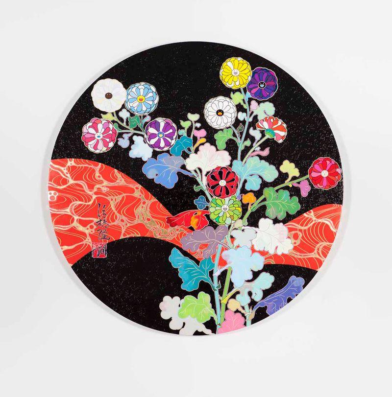 "Takashi_Murakami_View of the exhibition ""Takashi Murakami Arts Projects Ibiza in Partnership with Blum and Poe"" at Ibiza Gran Hotel  Ibiza (Spain), 2015_10538_1"