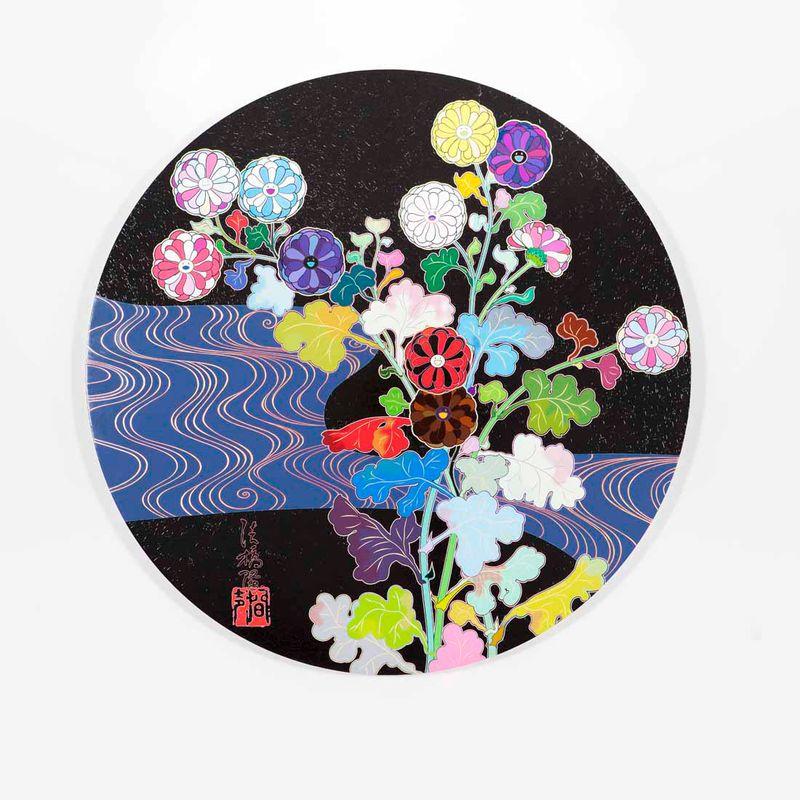 "Takashi_Murakami_View of the exhibition ""Takashi Murakami Arts Projects Ibiza in Partnership with Blum and Poe"" at Ibiza Gran Hotel  Ibiza (Spain), 2015_10543_1"