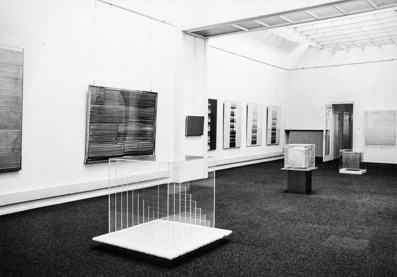 """Heinz_Mack_View of the exhibition """"Mack"""" at Musée d'Art Moderne de la Ville de Paris  Paris (France), 1973_10574_1"""