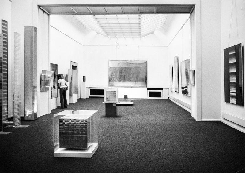 """Heinz_Mack_View of the exhibition """"Mack"""" at Musée d'Art Moderne de la Ville de Paris  Paris (France), 1973_10575_1"""