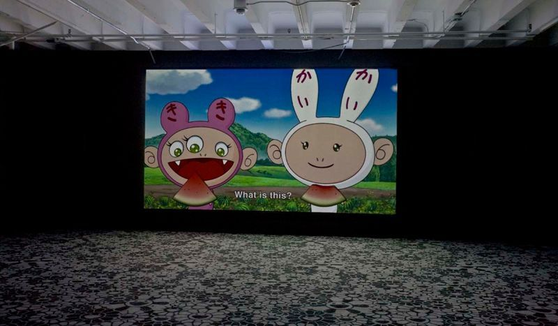 """Takashi_Murakami_View of the exhibition """"©MURAKAMI"""" at MOCA Los Angeles (USA), 2007_1059_1"""