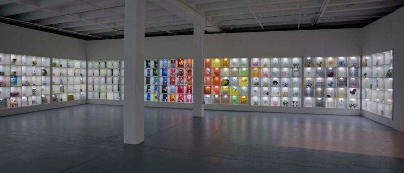 """Takashi_Murakami_View of the exhibition """"©MURAKAMI"""" at MOCA Los Angeles (USA), 2007_1060_1"""
